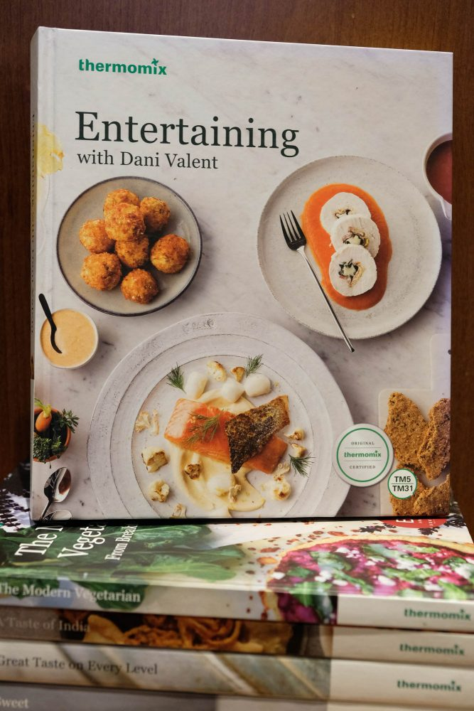 Products archive one girl and her thermie entertaining with dani valent recipe book forumfinder Choice Image