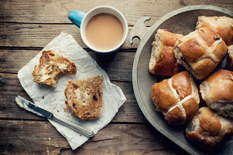 Spiced Hot Cross Buns