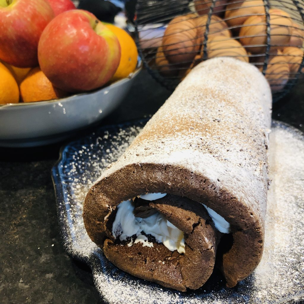 Thermomix Swiss Roll