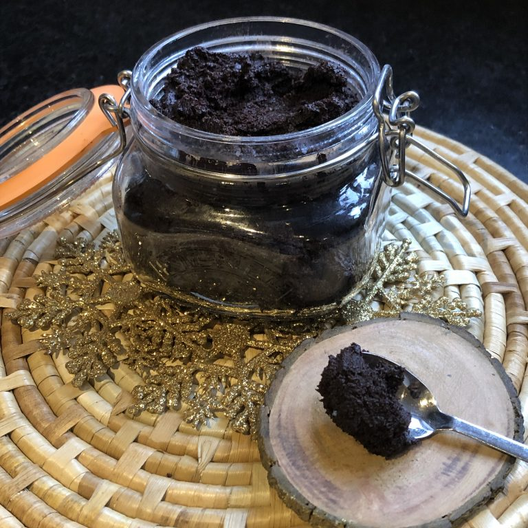 Chocolate Coconut Body Scrub